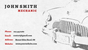 Mechanic Business Card template