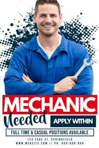 Mechanic Needed Poster