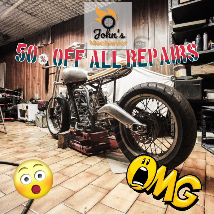 Mechanics Sale