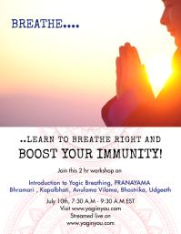 Mediation Yogic Breathing Workshop Live Class