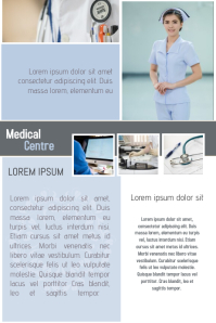 10 570 customizable design templates for free medical flyer