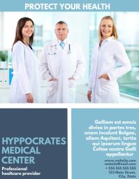 medical center flyer advertisement