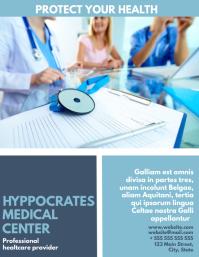 medical center flyer