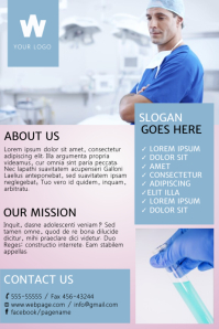 Medical Flyer Templates Yelommyphonecompanyco - Free medical brochure templates