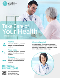 170 customizable design templates for medical flyer postermywall