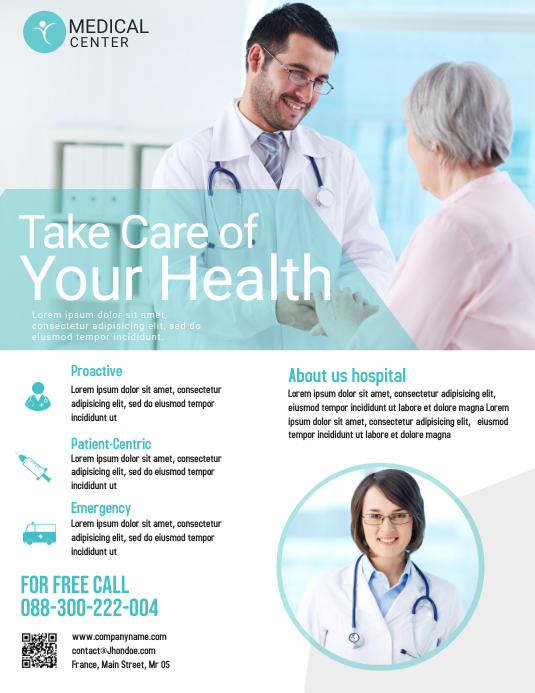 Medical Flyer Template Postermywall
