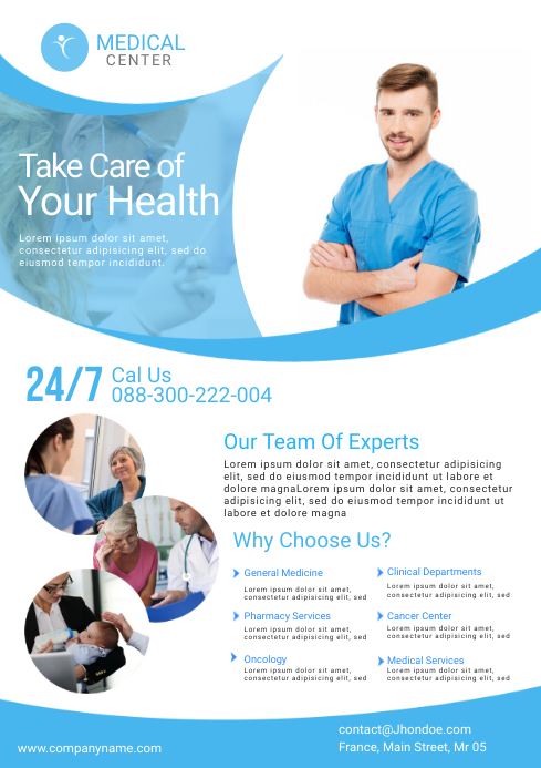 Medical Flyer Template..