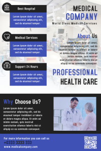 Medical Healt Business Flyer & Brochure Template Design