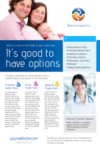 Medical Insurance Flyer