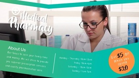 Medical Pharmacy Facebook Cover Video