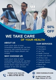 Medical Service Video template A4