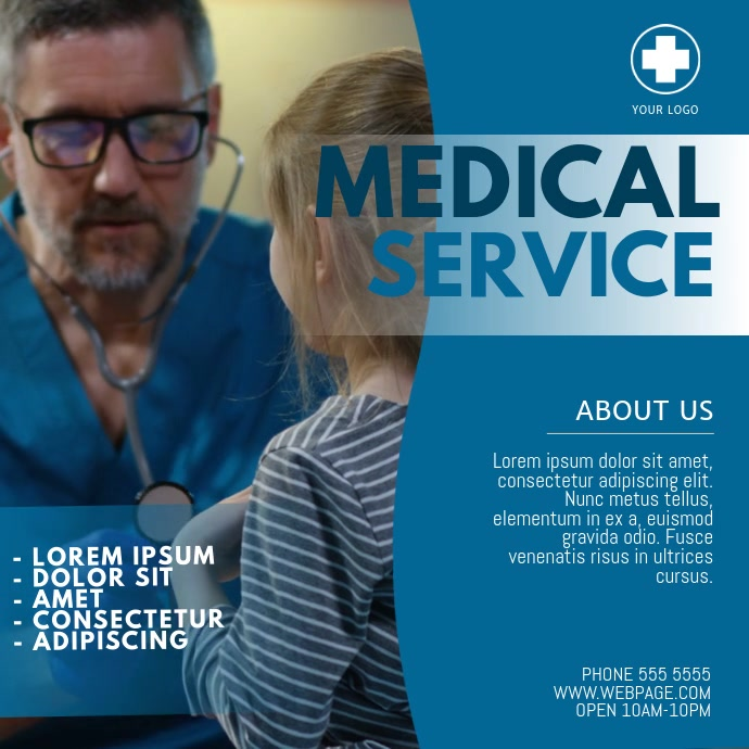 Medical Service Video template