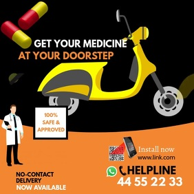 Medicine Doorstep Delivery Video Ad