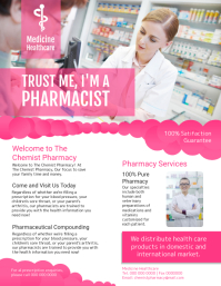 Medicine Healthcare Flyer