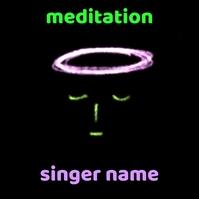 Meditation Calm Cover template