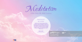 Meditation Event Cover Header Banner Yoga ad