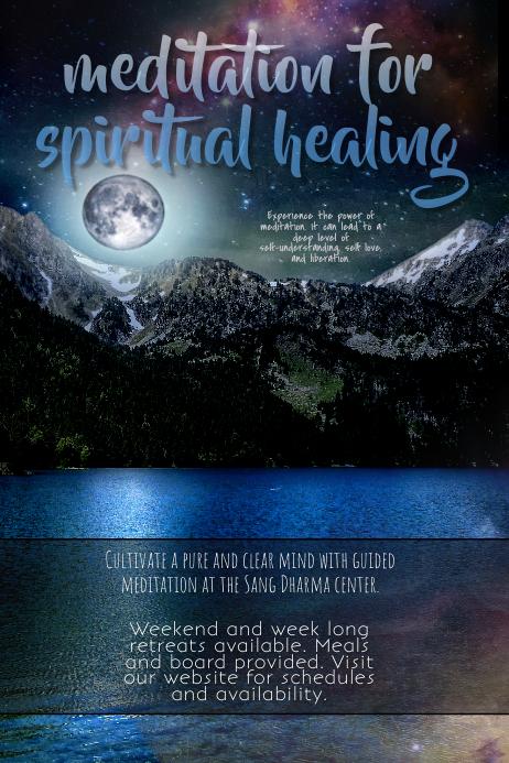 Meditation or Spiritual Retreat Class