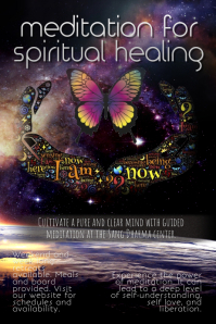 Meditation Retreat or New Age Psychic Flyer