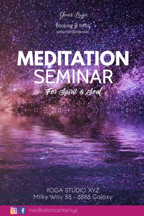 Meditation Seminar Workshop Group Yoga Soul