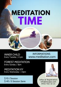 Meditation Workshop session classes yoga ad