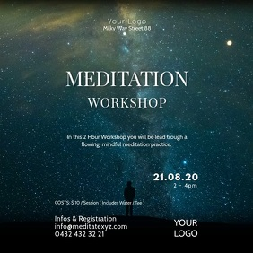 Meditation Workshop Spirituality Soul Stars