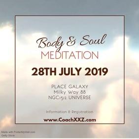 Meditation Workshop Yoga Spiritual Soul Ad