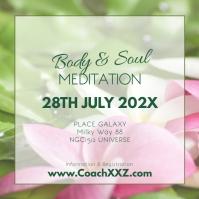 Meditation Workshop Yoga Spirituality Soul Ad