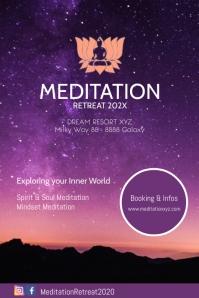Meditation Workshops Spiritual Healing Advert