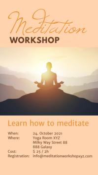 Meditation Yoga Spiritual Healing Mindset Ads Instagram-verhaal template