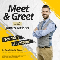 Meet & Greet Instagram Post