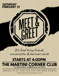 Meet & Greet Flyer