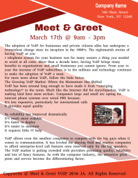 Free Meet And Greet Flyer Template. Meet And Greet Flyer Template ...