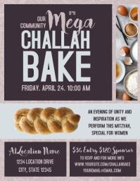 Mega Challah Bake Flier