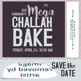 Mega Challah Bake Save The Date