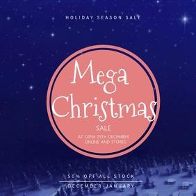 Mega Christmas Sale Instagram Video Template
