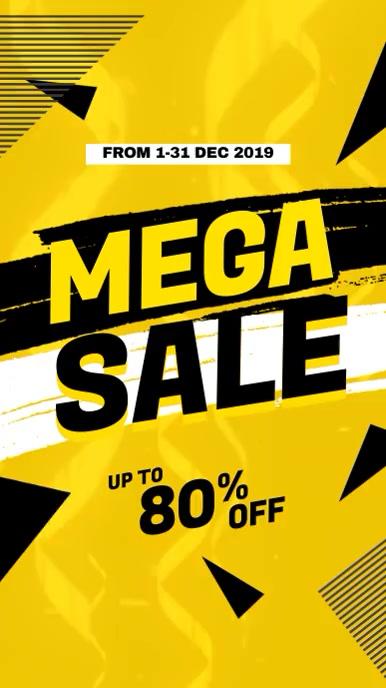 Mega Sale Promotional Video