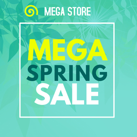MEGA SPRING SALE INSTAGRAM POST
