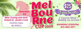 Melbourne Cup Facebook Cover Zdjęcie w tle na Facebooka template