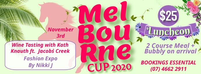 Melbourne Cup Facebook Cover template