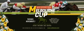 Melbourne Cup Facebook Cover Image template
