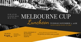 Melbourne Cup Facebook Shared Image template