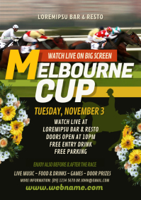 Melbourne Cup Flyer