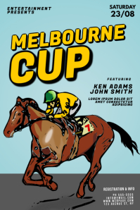 Melbourne Cup Flyer Template