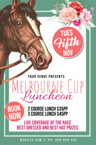 Melbourne Cup Poster