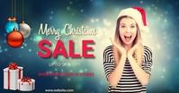 Christmas,new year,event,sale Gedeelde afbeelding op Facebook template