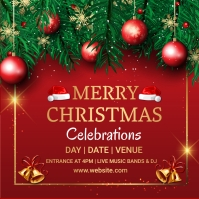 Christmas,new year,event,sale Instagram Plasing template