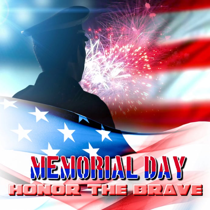 memorial day 2018 template postermywall