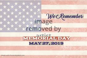 Memorial Day 2019 Poster