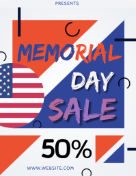 MEMORIAL DAY ad FLYER TEMPLATE