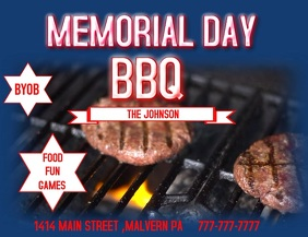 MEMORIAL DAY BBQ BAR EVENT PARTY